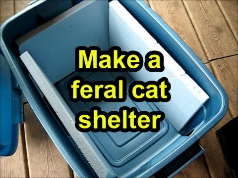 make-a-cheap-shelter-for-a-feral-cat-from-a-plastic-tub