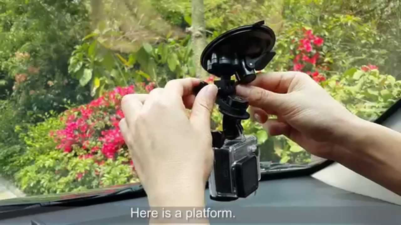 Using Gopro As Dash Cam >> Best Car Windshield Suction Mount Review for Gopro HD Hero 3+ 3 2 1 - YouTube