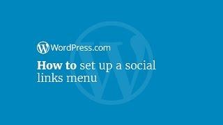 Sosyal Bağlantılar Menüsünü Nasıl kurulur WordPress Eğitimi: