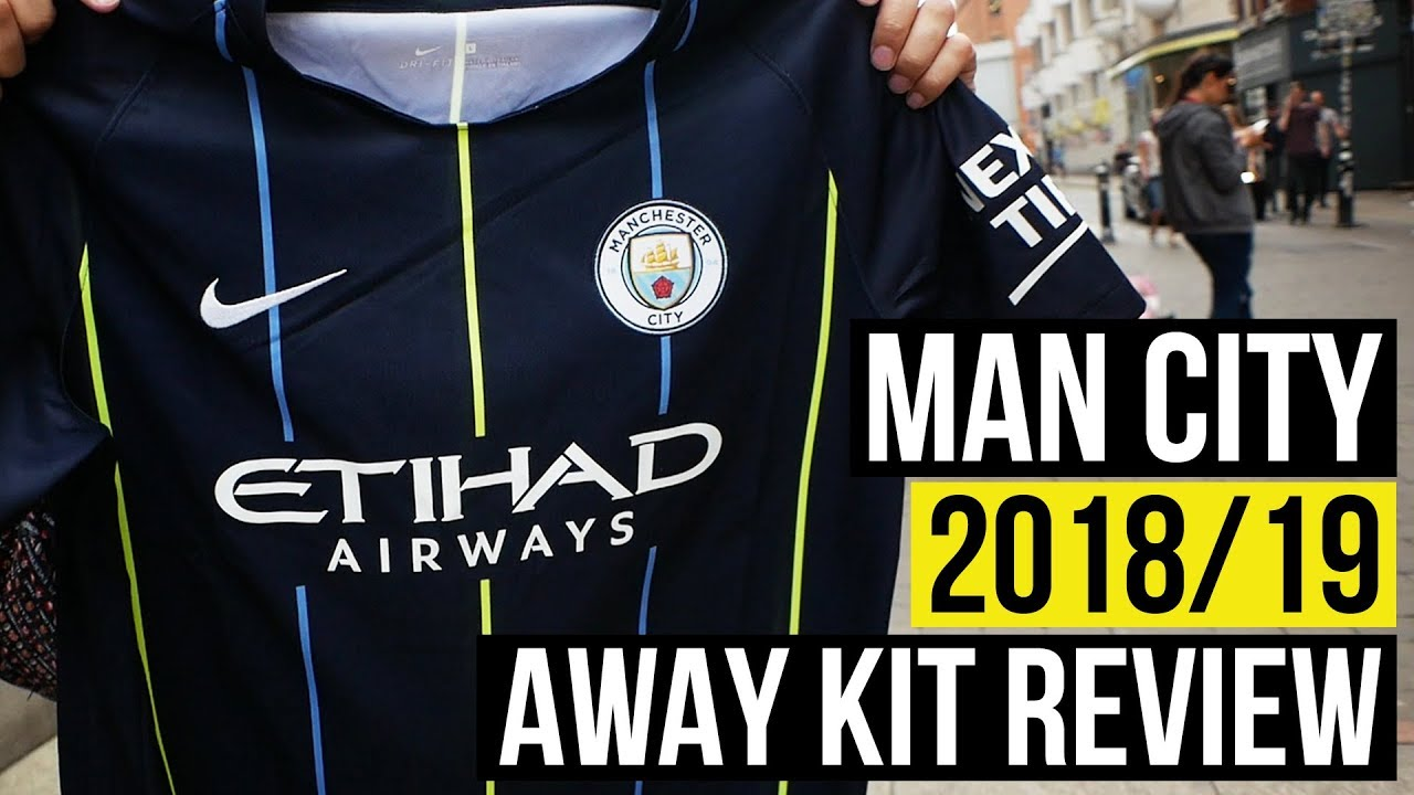 newest 378ea 8f89f MAN CITY 2018/2019 AWAY SHIRT REVIEW | FAN REACTION