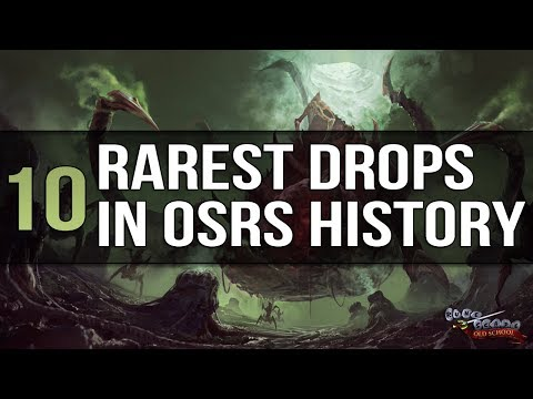 10 of the Rarest Drops Received by Players in OSRS History