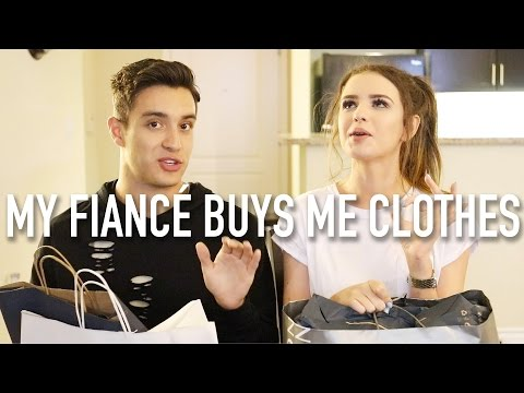 MY FIANCÉ BUYS ME CLOTHES