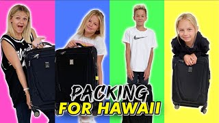 Packing For 4 Kids for Hawaii | Prepping For Vacation | The LeRoys