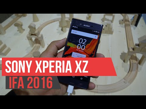Sony Xperia XZ - Hands on IFA 2106