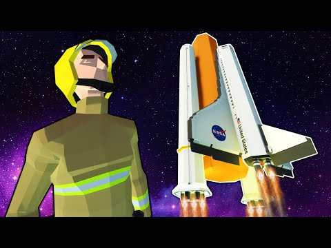 We Launched Into Space With an Awesome Shuttle! - Stormworks Multiplayer Update Gameplay