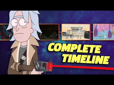 RICK AND MORTY Complete Timeline (Seasons 1-5)