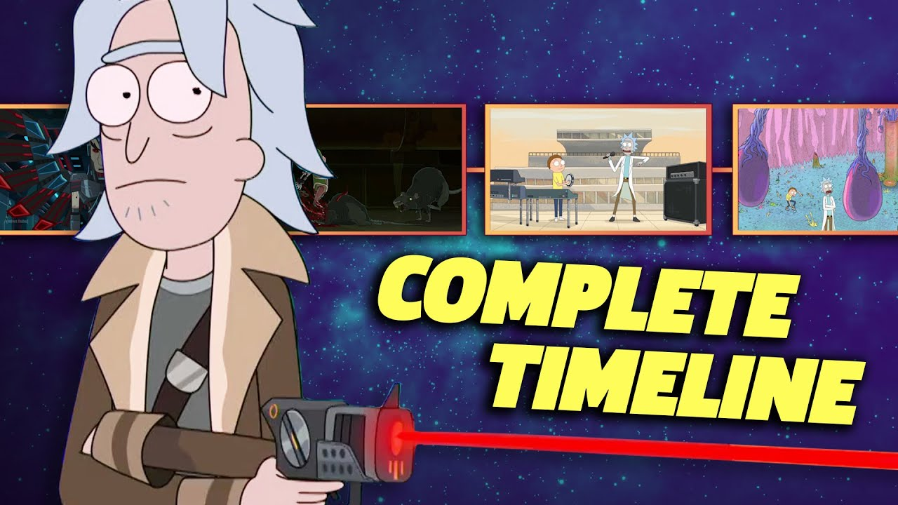 Download RICK AND MORTY Complete Timeline (Seasons 1-5)