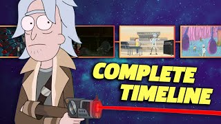 RICK AND MORTY Complete Timeline (Seasons 15)