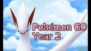 THE LEGEND OF POKÉMON GO: Year 2 Summary (Pokémon Video #188)