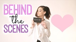 Behind the Scenes: MakeupbyMandy24 Palette Shoot! Thumbnail
