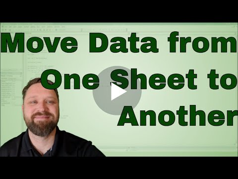 Moving Or Copying Data From One Worksheet To Another Worksheet Using Vba In Excel