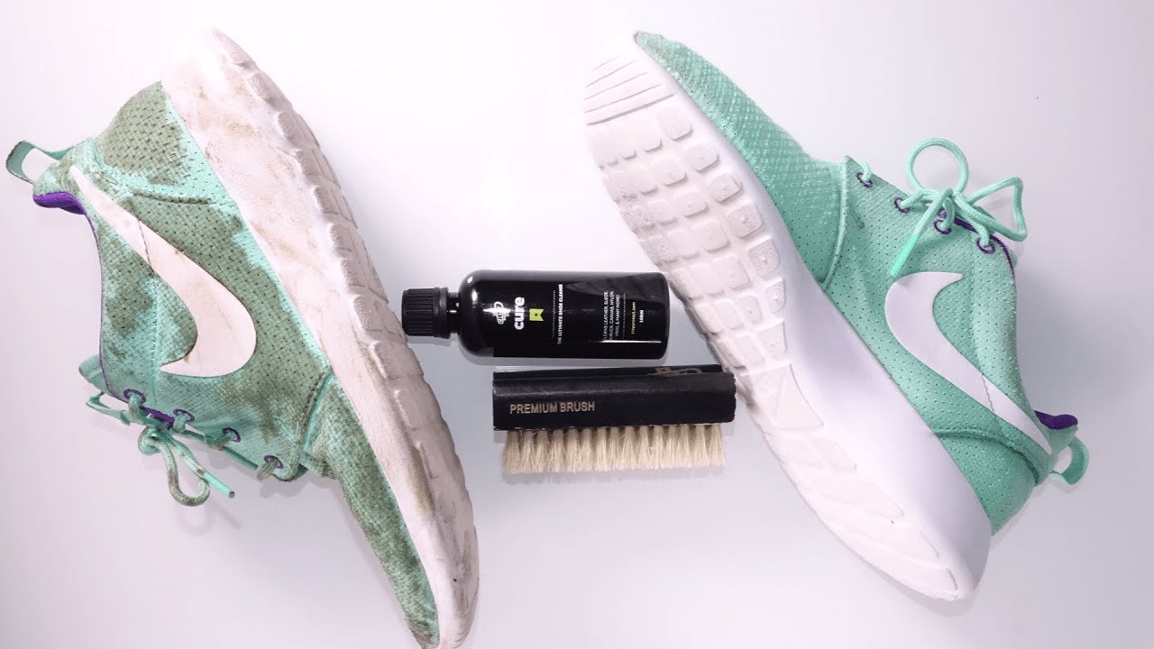 ed2169ee7a2be Crep Protect Cure  How To Clean Your Beaters - YouTube