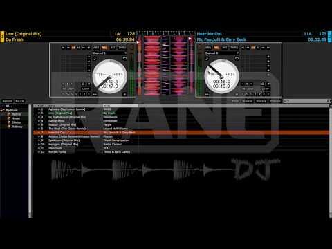 Rane SL 4 Two-Deck DJ Handover by Todd Konix