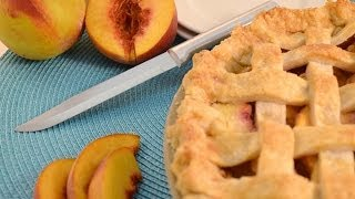 Homemade Peach Pie Recipe | Radacutlery.com