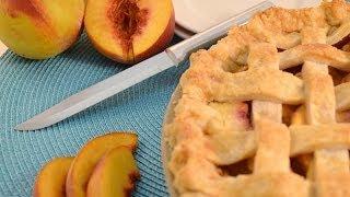 Homemade Peach Pie Recipe | Radacutlery.com