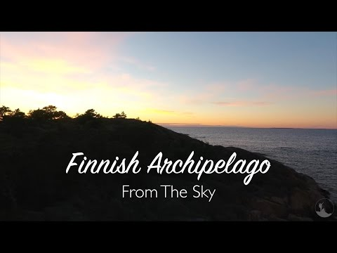 Finnish Archipelago From The Sky