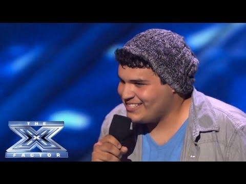 Carlos Guevara's Struggles Won't Hold Him Back - THE X FACTOR USA 2013