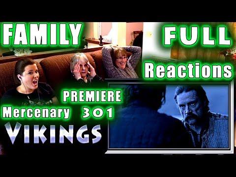 VIKINGS | FULL FAMILY Reactions | PREMIERE | Mercenary | 301