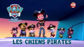 """Paw Patrol, la Pat' Patrouille des mers : Bande annonce """"Les chiens Pirates"""""""