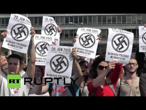 Slovakia: Far-right protest against the 'Islamification of Europe' in Bratislava