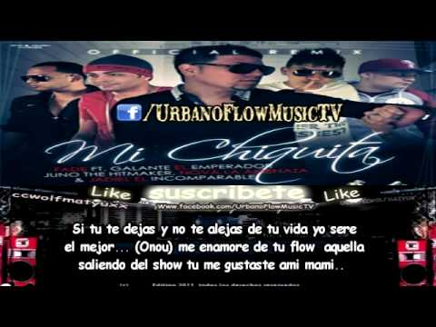 Fade,Galante,Juno, Jadiel & Nova - Mi Chiquita (Official Remix) (CON LETRA) ★REGGAETON 2012★