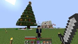 ماين كرافت #50 اكبر شجرة كريسمس في تاريخ ماين كرافت !
