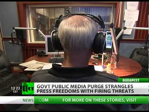 Press Purge: Govt grip strangles Hungary's media freedom