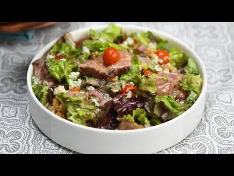 Low-Carb Steak Salad With Dijon Vinaigrette