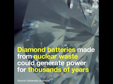Diamond batteries made from nuclear waste could generate power for thousands of years