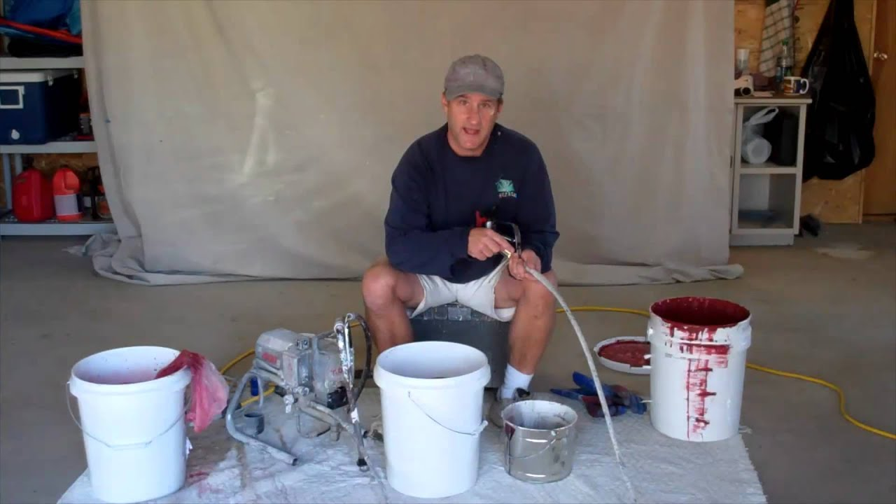 how to use a paint sprayer youtube
