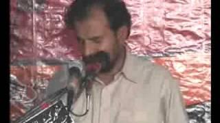 ZAKIR MALIK ALI RAZA KHOKHAR YADGAR MAJLIS 24 OCT 2011 ON SHAHADAT IMAME RAZA TABOT AT JHANG CITY