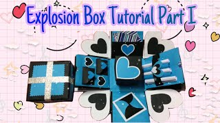Simple Explosion Box Quick Tutorial Folder box Part I