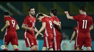 Uzbekistan 2:2 Georgia 23.01.2016 All Goals (International friendly match)