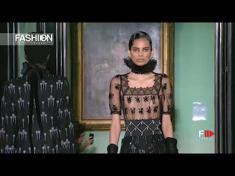 ERDEM Women's Collection Fall 2020 London - Fashion Channel