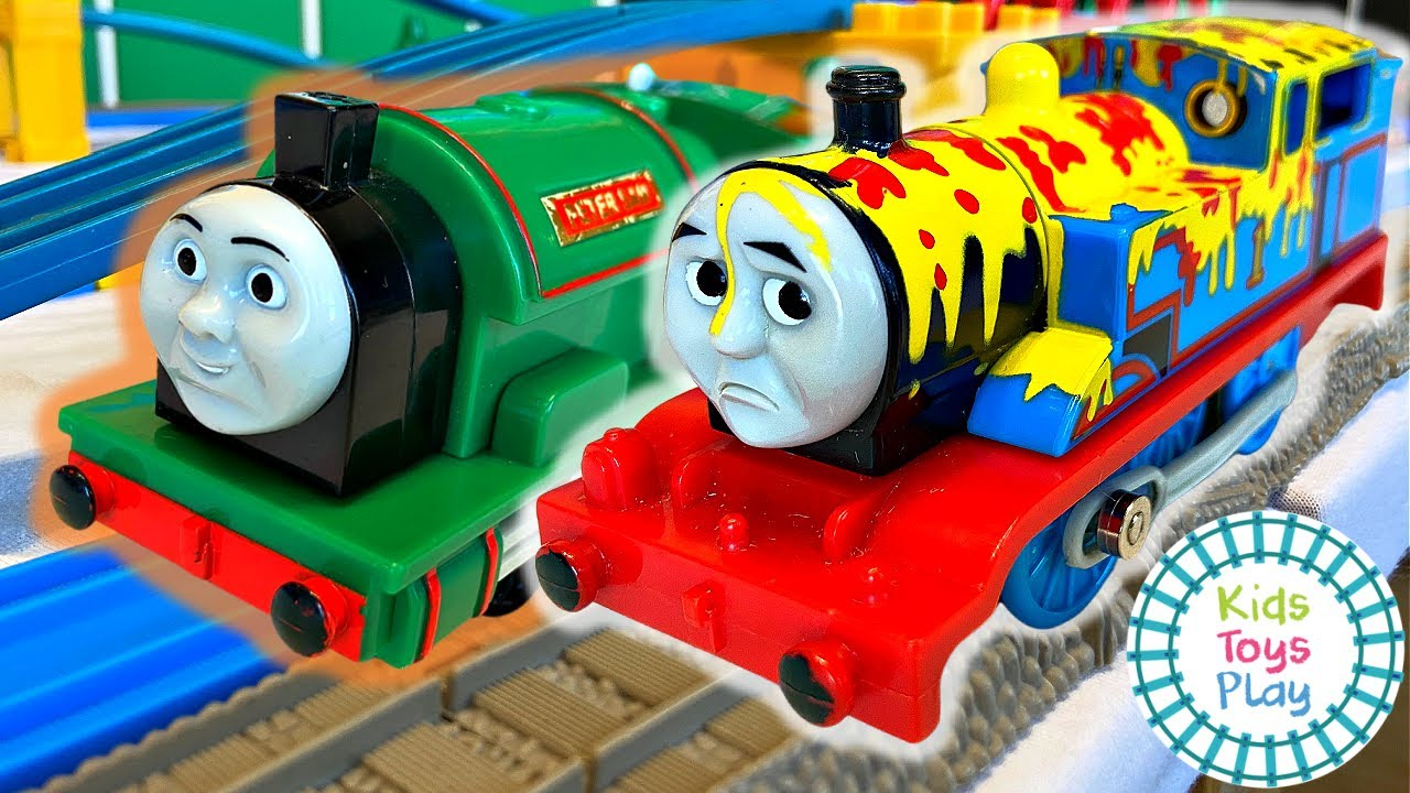 Which Thomas Trains are Faster, TOMY or Trackmaster?