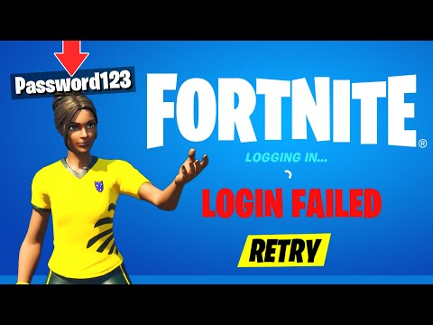 I put my PASSWORD in my FORTNITE NAME...