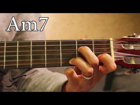 Am7 Chord On Guitar Youtube