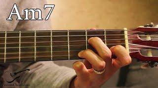 am7 chord on guitar