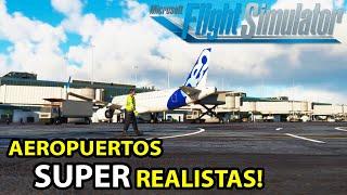 Gameplay Microsoft FLIGHT SIMULATOR 2020 ✈️ | Los AEROPUERTOS en Funcionamiento Son INCREIBLES !