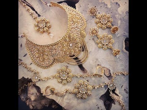 Indian Bridal Jewellery Sets with Price 2017