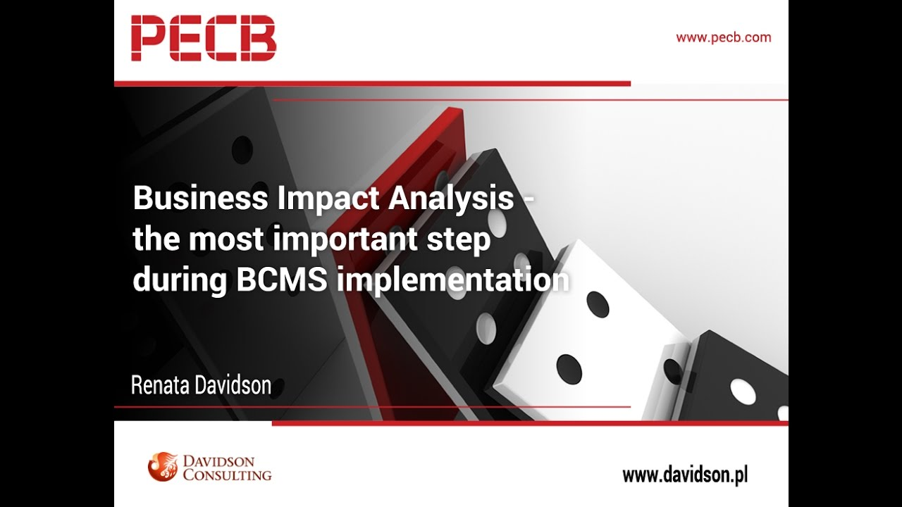 Business Impact Analysis The Most Important Step During Bcms