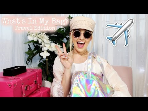 Whats In My Bag? TRAVEL EDITION | Rydel Lynch