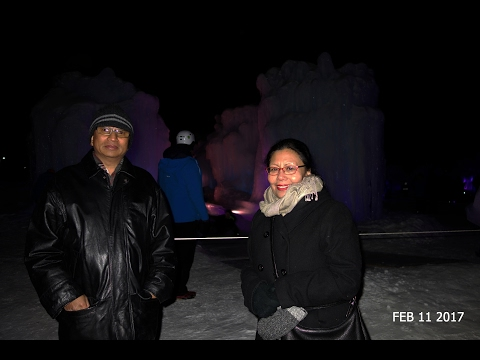 Exploring Ice Castles in Edmonton (2017)