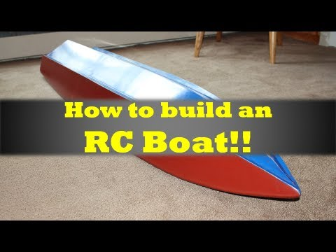 MrRcFanatik - How to Build an RC Boat - YouTube