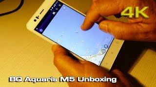 bQ Aquaris M5 Unboxing 4K