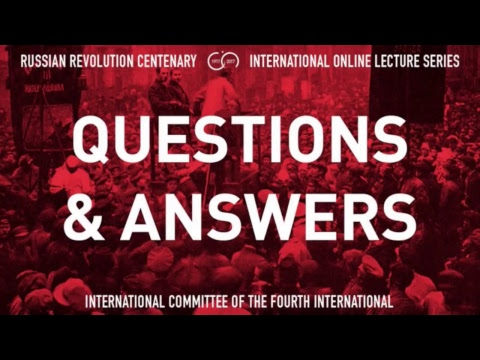The Place of the October Revolution in World History and Contemporary Politics
