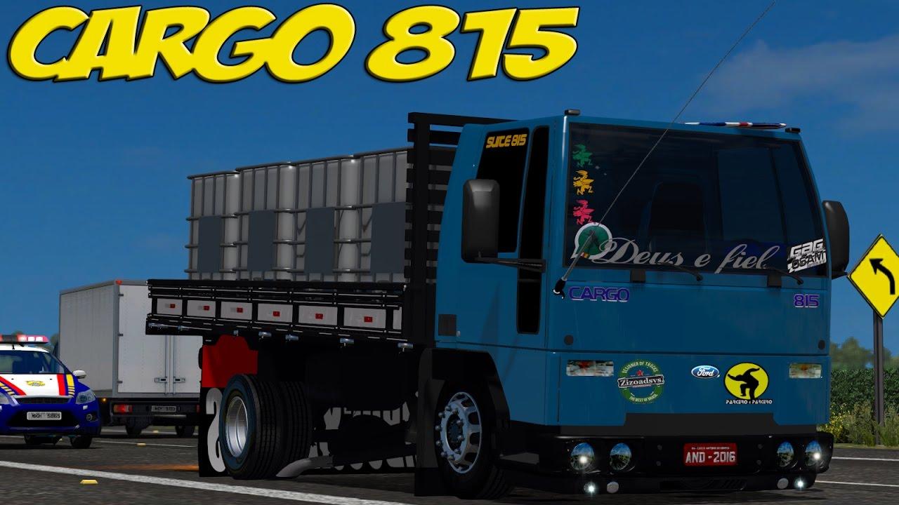 Ford Cargo 815 Equipado Ultrapassagens Perigosas Volante G27