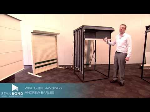 Wire Guide Awnings | Stan Bond | Adelaide