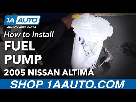 How to Replace Fuel Sending Unit 04-06 Nissan Altima L4 2.5L