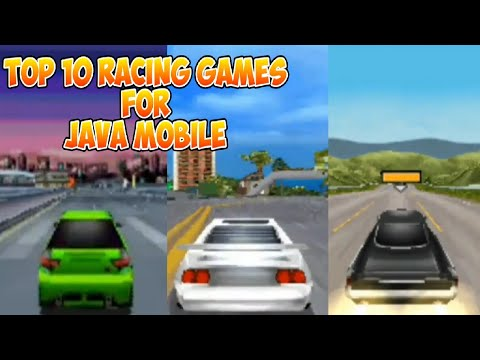 TOP 10 RACING GAMES FOR J2ME LOADER (ANDROID)